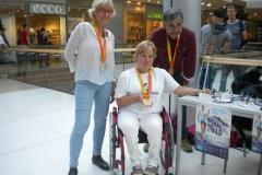 Boris Farkaš s manželkou a Veronikou Vadovičovou Trnava