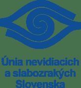 Logo Únie nevidiacich aslabozrakých Slovenska