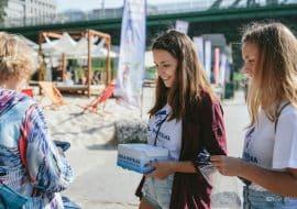 Biela pastelka 2018 dobrovolnici