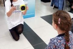 Prešovská Biela pastelka - meranie zraku