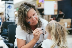 Maľovanie deťom na tvár