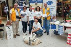 Členovia Lions Club s organizátormi v B. Bystrici
